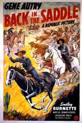 poster for Back in the Saddle