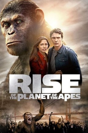 poster for Rise of the Planet of the Apes