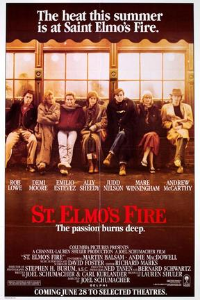 poster for St. Elmo's Fire