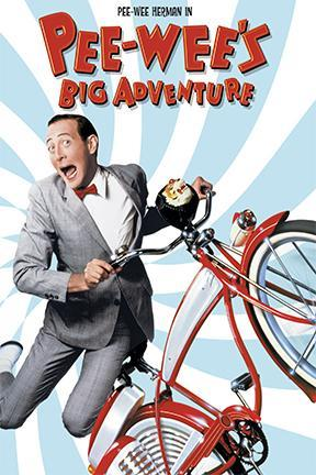 poster for Pee-wee's Big Adventure