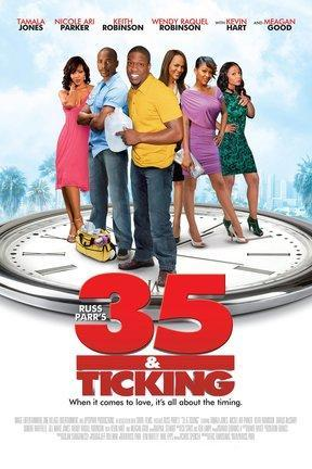 poster for 35 & Ticking