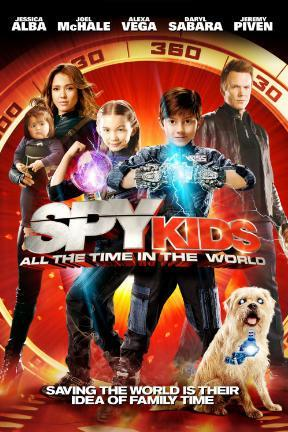 poster for Spy Kids: All the Time in the World in 4D (3D)