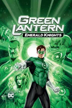 poster for Green Lantern: Emerald Knights