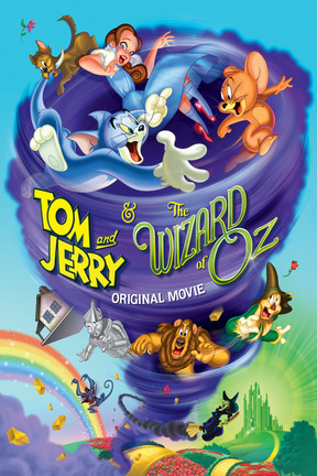 poster for Tom and Jerry & the Wizard of Oz