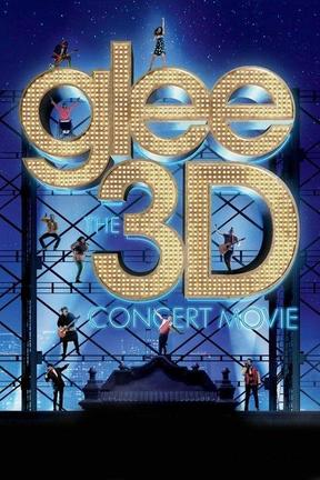 poster for Glee the Concert Movie