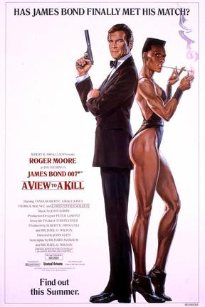 poster for A View to a Kill