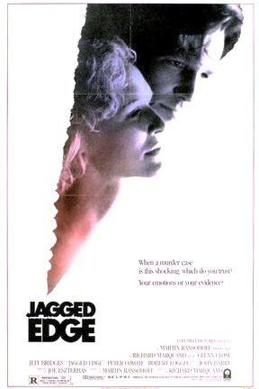 poster for Jagged Edge