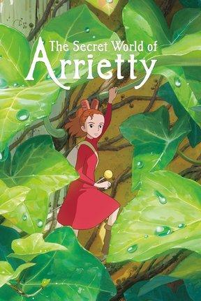 poster for The Secret World of Arrietty