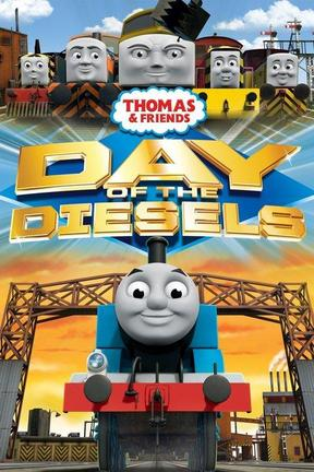 poster for Thomas & Friends: Day of the Diesels