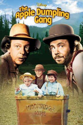 poster for The Apple Dumpling Gang