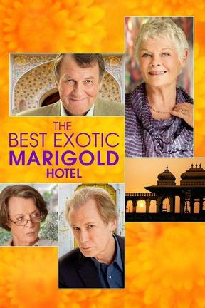 poster for The Best Exotic Marigold Hotel