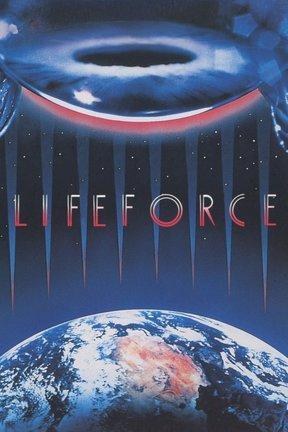 poster for Lifeforce