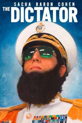 poster for The Dictator