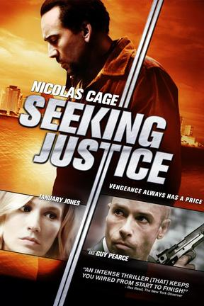 poster for Seeking Justice