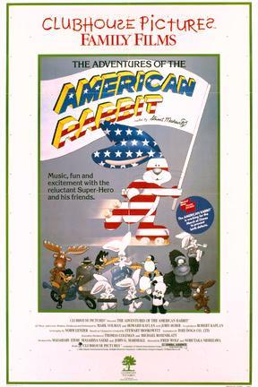 poster for The Adventures of the American Rabbit