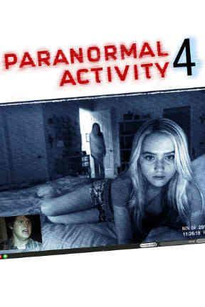poster for Paranormal Activity 4