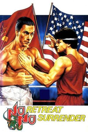 poster for No Retreat, No Surrender