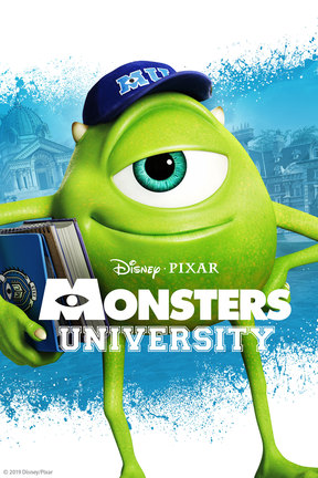 poster for Monsters University