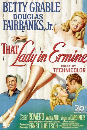 poster for That Lady in Ermine