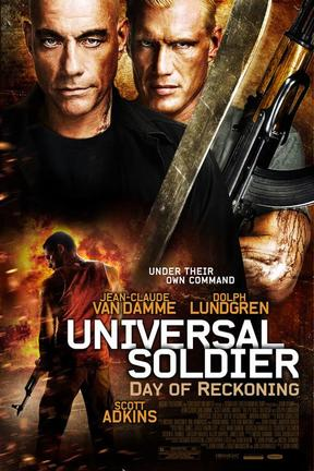 poster for Universal Soldier: Day of Reckoning