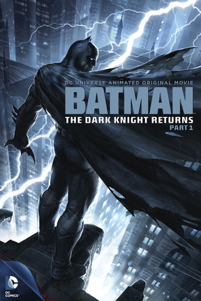 poster for Batman: The Dark Knight Returns, Part 1
