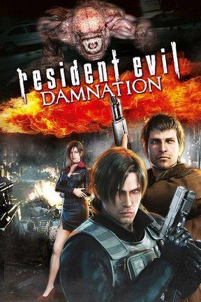 poster for Resident Evil: Damnation