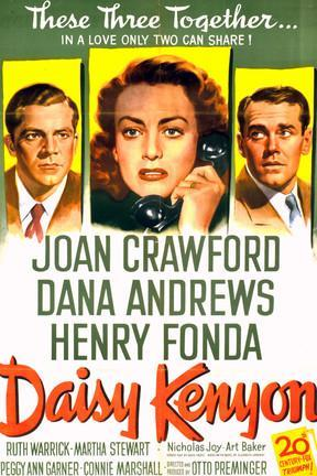 poster for Daisy Kenyon