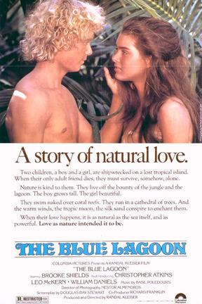 poster for The Blue Lagoon