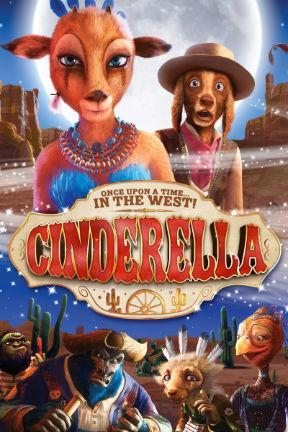 poster for Cinderella Once Upon A Time...In The West