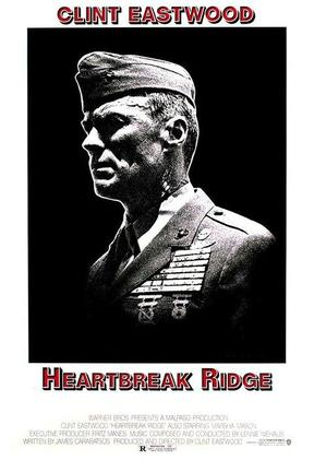 poster for Heartbreak Ridge