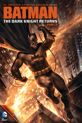 poster for Batman: The Dark Knight Returns, Part 2