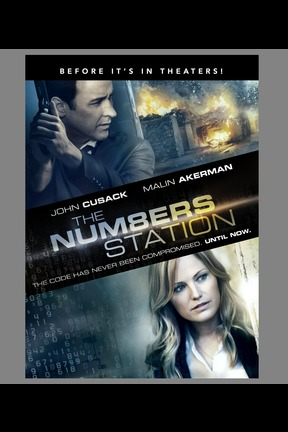 poster for The Numbers Station