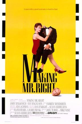 poster for Making Mr. Right