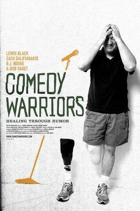 poster for Comedy Warriors: Healing Through Humor