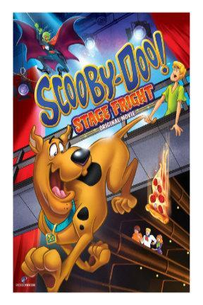poster for Scooby-Doo! Stage Fright