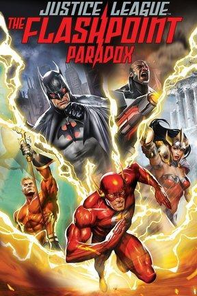 poster for Justice League: The Flashpoint Paradox