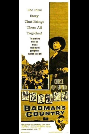 poster for Badman's Country