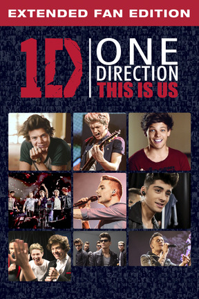 poster for One Direction: This Is Us - Extended Fan Cut