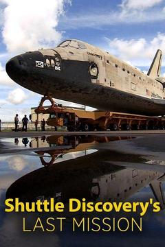 poster for Shuttle Discovery's Last Mission