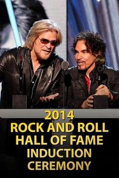 poster for 2014 Rock and Roll Hall of Fame Induction Ceremony