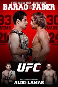 poster for UFC 169: Barao vs. Faber