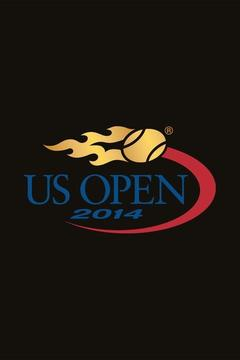 poster for 2014 U.S. Open Tennis