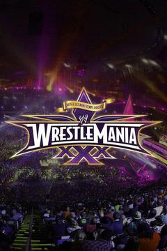 poster for WWE WrestleMania 30