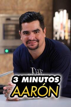 poster for 3 minutos Aarón