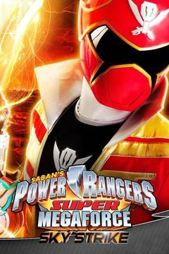 poster for Power Rangers Super Megaforce: Sky Strike