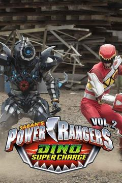 poster for Power Rangers Dino Super Charge, Vol. 2