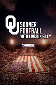 poster for OU Sooner Football with Lincoln Riley