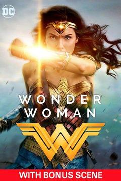 poster for Wonder Woman with Bonus Scene
