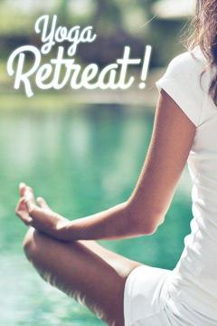 poster for Yoga Retreat!