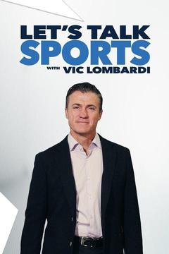 poster for Let's Talk Sports with Vic Lombardi